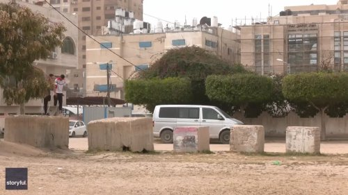 Friends in Gaza Won't Let Lost Limbs Get in Way of Parkour Dreams