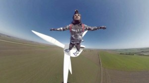Check Out This Botched Base Jump That Ends Up Okay For Face Planting Frenchman