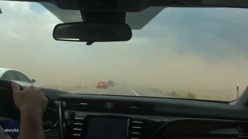 Several Dead After Utah Sandstorm Leads to 22-Car Pileup