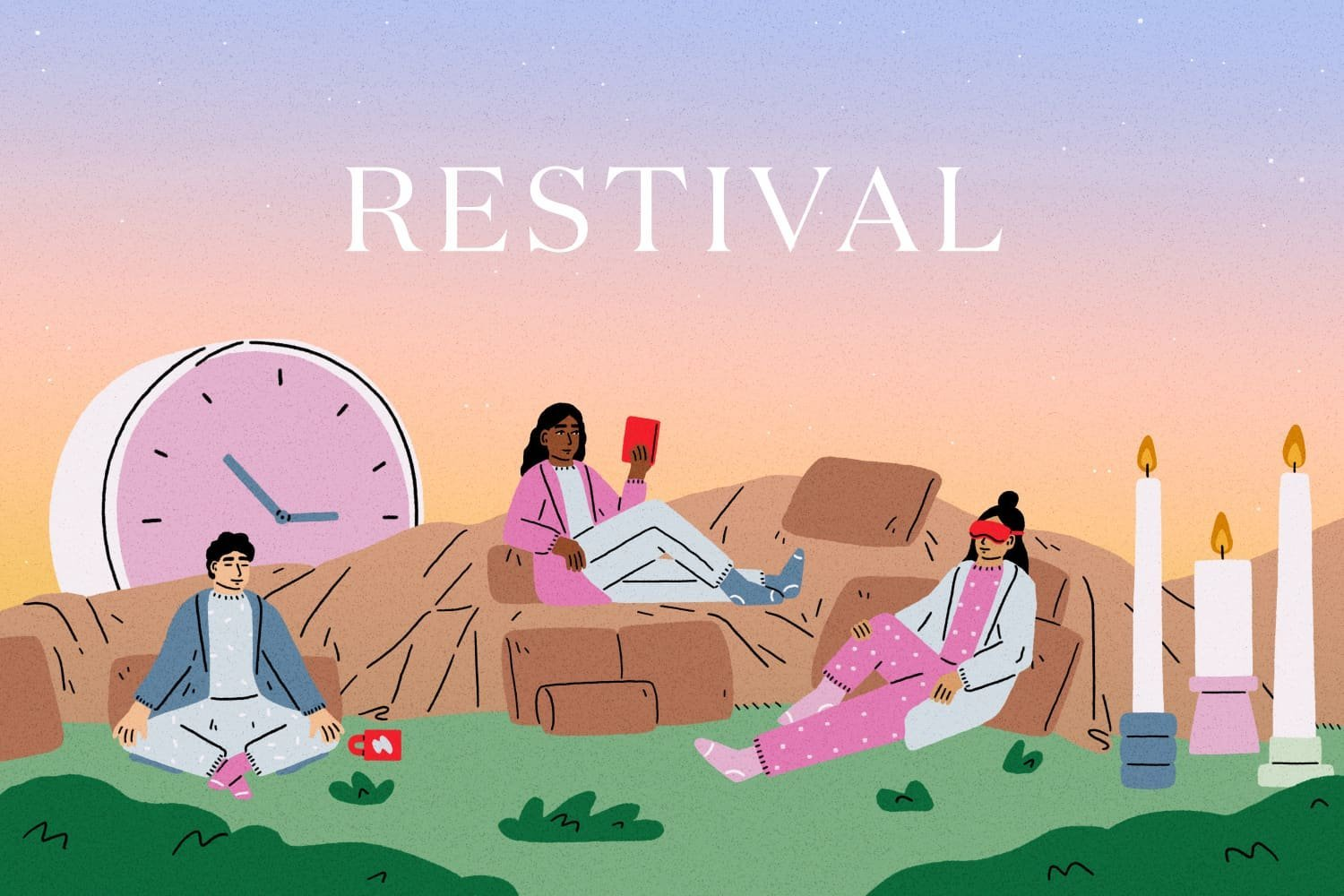 Welcome to Restival Season, Where Relaxing Is the Main Event