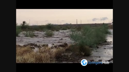 US: Flooding In Phoenix Area