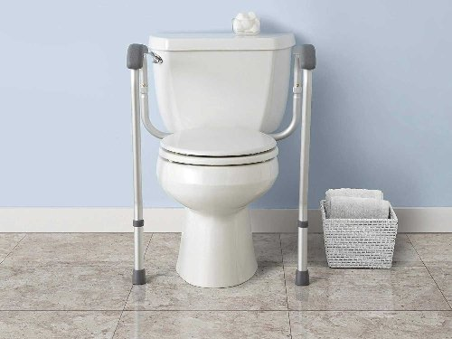 Stay Stable with these Toilet Safety Rails