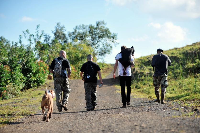 Pig Hunting Through Kualoa Ranch » FLUX