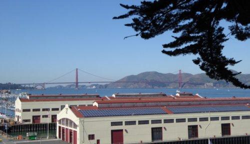San Francisco's schönste Fahrradtour