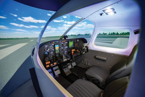 Learning to Fly with a Flight Simulator