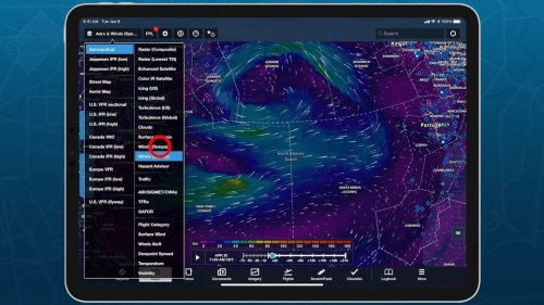ForeFlight Update Includes Dynamic WX, Background Downloads