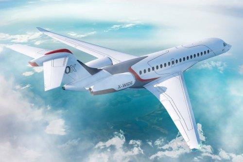 Dassault Aviation Reveals Falcon 10X