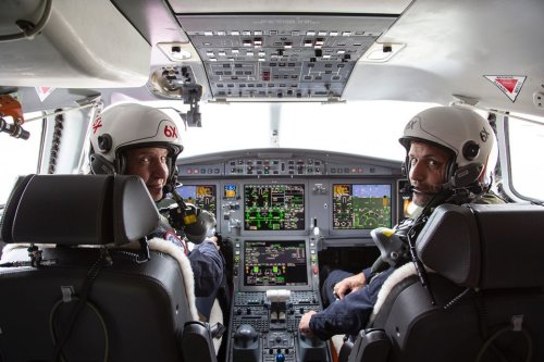 Second Falcon 6X Takes Flight, Third on the Way