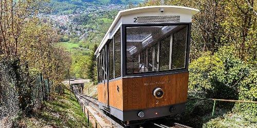 Merkurbergbahn in Baden-Baden hat neuen Look