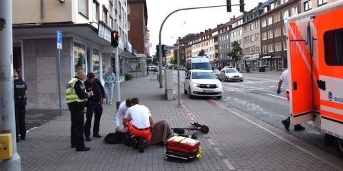 Polizei Bremerhaven: POL-Bremerhaven: Mann verunglückt mit seinem E-Scooter