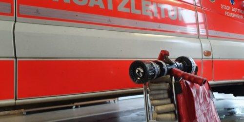 Feuerwehr Bottrop: FW-BOT: Fernsehgerät fängt Feuer