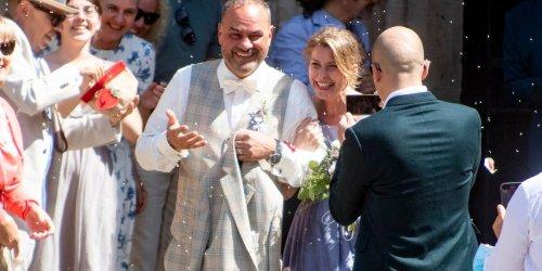 FULDA: Promihochzeit in der Barockstadt: Schauspielerin Valerie Niehaus hat geheiratet