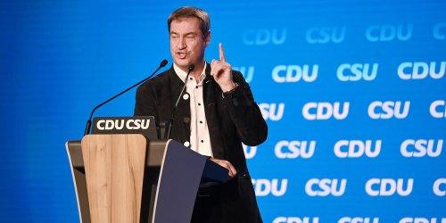 Söder sieht Union vor Wahlkampffinale mit Vorteilen