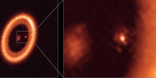 "ALMA bestätigt exoplanetare ""Mondwiege"""