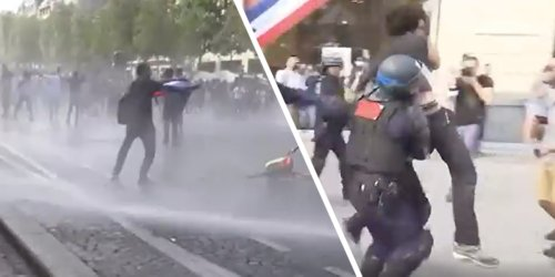 Gewaltausbrüche in Paris: Massenproteste gegen Corona-Auflagen eskalieren - Video