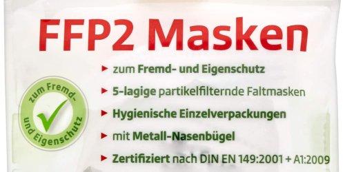 Nicht alle Anforderungen: Bundesweit verkauft: Rossmann ruft FFP2-Schutzmasken zurück