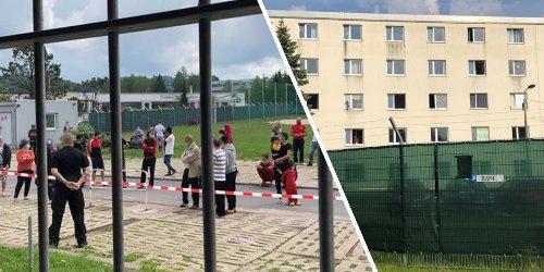 Report aus Thüringer Flüchtlingsheim: Spuren der Gewalt, Zeichen der Hoffnung: Was ich im Problem-Asylheim in Suhl erlebte