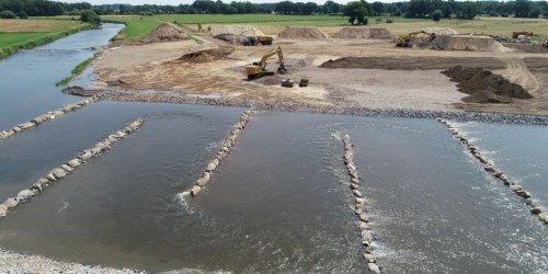 Größte Flussentwicklungsmaßnahme vor Abschluss