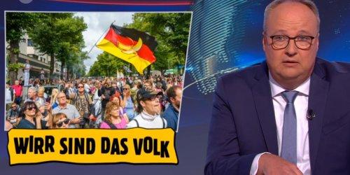 """Oliver Welke über gewalttätige Querdenker: """"Asoziales Stück Sch...!"""""""