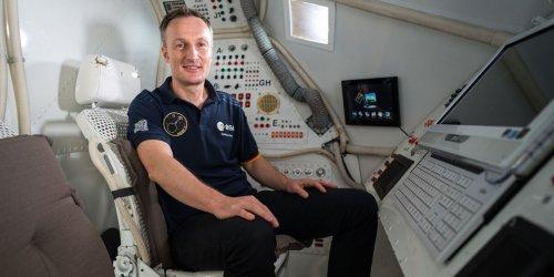 Astronaut Maurer beantwortet Fragen vor baldigem Raumflug
