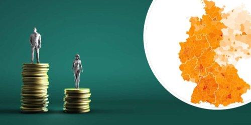 Mit 3427 Euro in der oberen Hälfte: Gehalt vergleichen: Deutschlandkarte zeigt, wie reich Sie in Ihrer Heimat sind