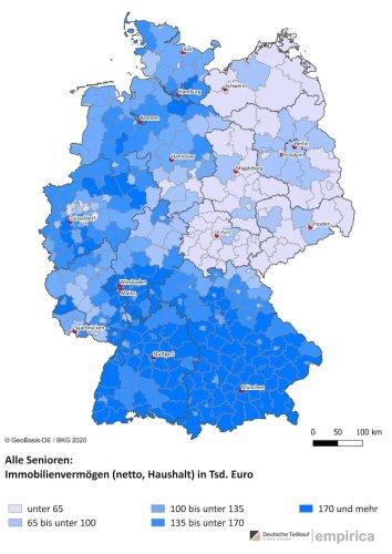 Es ist nicht die Stadt München: Hier leben die reichsten Rentner Deutschlands
