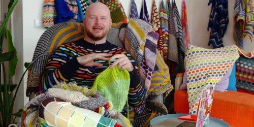 Erfolgreiche Masche: der Strickdesigner Stephen West