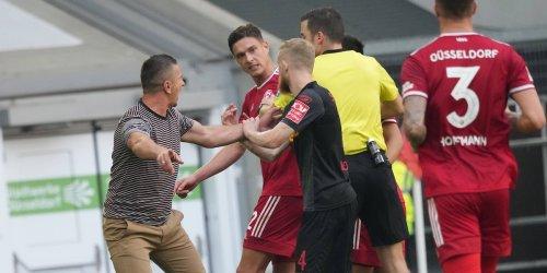 2. Bundesliga: Fortuna Düsseldorf trotzt Tabellenführer Regensburg einen Punkt ab