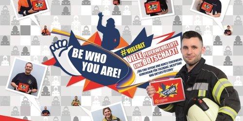 Verband der Feuerwehren in NRW e. V.: VdF-NRW: Dachverband beteiligt sich mit Fotoaktion am internationalen Tag gegen Homo-, Bi-, Inter- und Transphobie (IDAHOBIT)