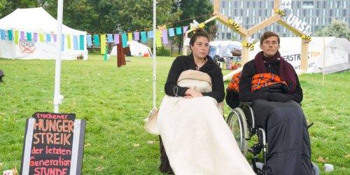 Nach Hungerstreik Treffen von Klimaaktivisten und Scholz
