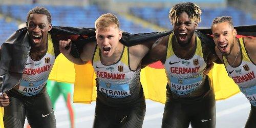 HSV-Sprinter Ansah-Peprah stellt Uralt-Rekord ein