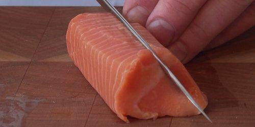 Ob Sushi-Freunde begeistert sind?: Lachs aus dem Labor: In diesem Sushi steckt künstliches Fischfleisch
