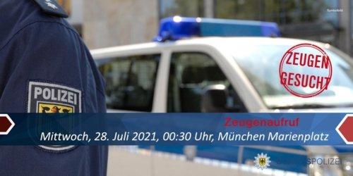 Bundespolizeidirektion München: Bundespolizeidirektion München: Zeugenaufruf / Bundespolizei sucht nach Angriff auf 41-Jährigen nach Zeugen