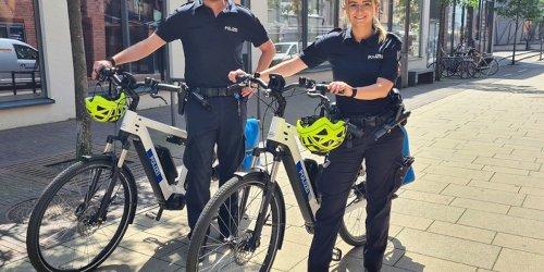 Polizeiinspektion Emsland/Grafschaft Bentheim: POL-EL: Meppen - Einsatz- und Streifendienst nun auch auf Fahrrädern unterwegs