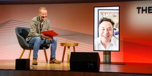 VW-Bosse lernen von Elon Musk: Jetzt lädt er sie ins deutsche Tesla-Werk ein
