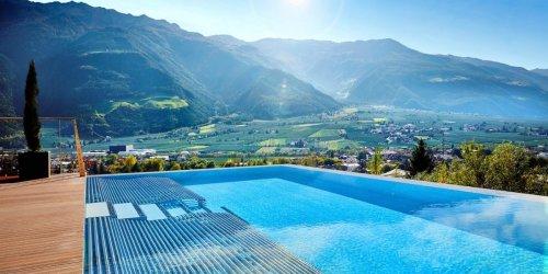 Moderate Inzidenz, viel Entspannung: Urlaub jenseits der Corona-Hotspots: Die schönsten Spa-Hotels in Südtirol