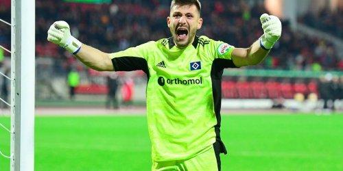 Vorm Kiel-Spiel: HSV zittert um Heuer Fernandes und eröffnet Vertragspoker