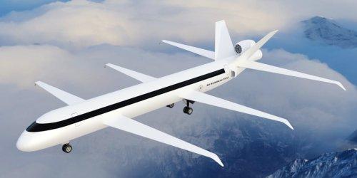 Kühne Pläne von US-Unternehmen: Irres Flugzeug mit drei Flügeln und Heck-Triebwerk soll Luftfahrt revolutionieren