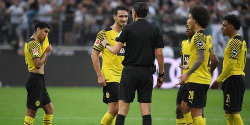 Niederlage gegen Gladbach: BVB in der Einzelkritik: Rotsünder Dahoud kassiert 6, drei weitere Fünfen