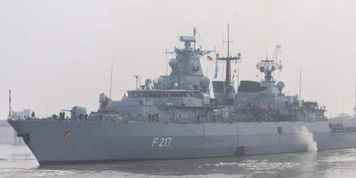 """Fregatte """"Bayern"""": Deutschland schickt Kriegsschiff in Region um China, will aber Konfrontation vermeiden"""