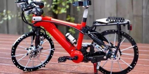 Fan baut fahrtüchtiges Fahrrad aus Lego: Es funktioniert sogar die Klingel