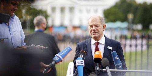 Besuch in Washington: Olaf Scholz, who? Für unseren Ampel-Mann interessiert sich in USA fast noch niemand