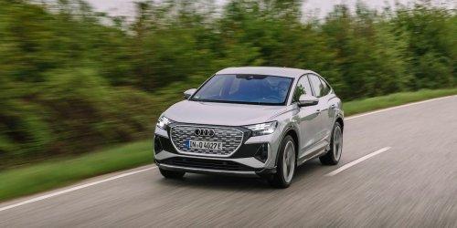 Fahrbericht Audi Q4 e-tron: Schicker als ein VW ID4 - aber besser als Tesla? Audis neues Elektro-SUV im Test