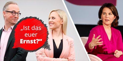 """Grünen-Fluch der Quote - Fleischhauer: """"Musste unbedingt 'ne Frau sein!"""""""