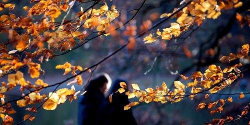 Mildes Herbstwetter im Norden