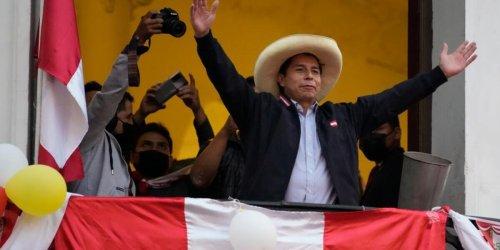 Sieg eines Außenseiters: Rechtspopulistin düpiert: Linkskandidat Castillo gewinnt Präsidentenwahl in Peru