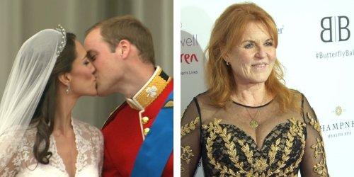 Keine Hochzeitseinladung: Fergie wettert gegen William und Kate