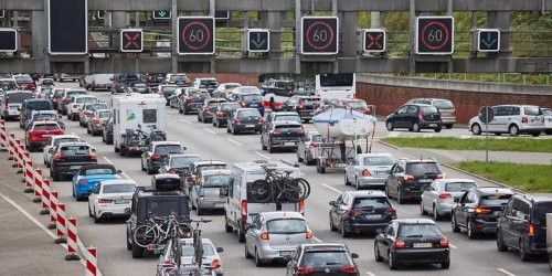 A1 und A7 völlig überfüllt: Stau-Chaos auf Hamburgs Autobahnen