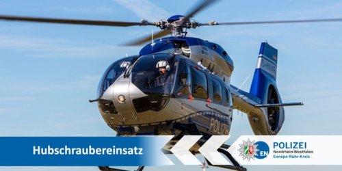 Kreispolizeibehörde Ennepe-Ruhr-Kreis: POL-EN: Ennepetal- Hubschrauber sucht nach Einbrechern