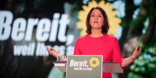 Bundesparteitag der Grünen im News-Ticker: 98,55 Prozent: Grüne bestätigen Annalena Baerbock als Kanzlerkandidatin